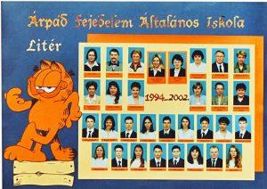 2002-ben végzett tanulók és tanáraik